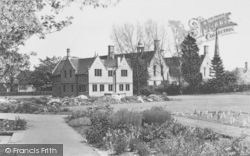 Oundle, Museum And Science Block c.1950