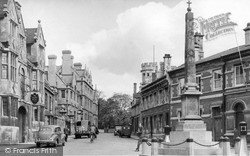 Oundle, New Street c.1950