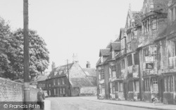 Oundle, North Street c.1950
