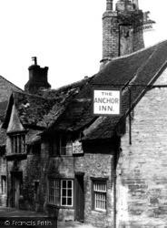 Oundle, The Anchor Inn, St Osyth Lane c.1950