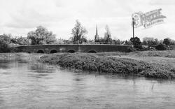 Oundle, The Bridge c.1955