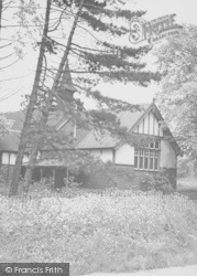 Oundle, The Old School Chapel c.1950