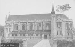 Oundle, The School Chapel c.1950