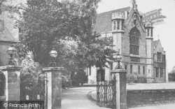 Oundle, The School, Great Hall c.1950