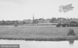 Oundle, View From The Bridge c.1950