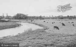 Oundle, View From The Bridge c.1955