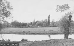 Oundle, View From The River Oundle c.1950