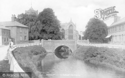 Outwell, Church And River 1901