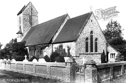 Outwood, Church Of St John The Baptist 1906
