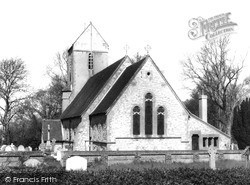 Outwood, Church Of St John The Baptist 1965