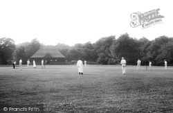 Outwood, Cricket Ground 1908