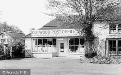 Outwood, Post Office Stores c.1960