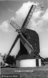 Outwood, The Old Mill, Built 1665 c.1955