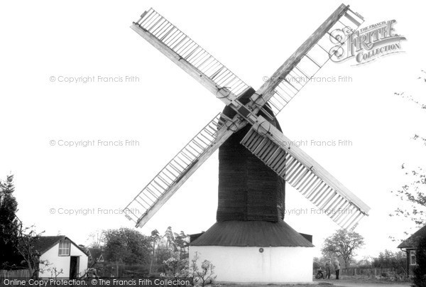 ,Outwood, The Windmill c1965, Surrey,
