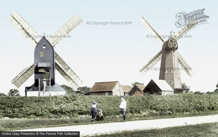 Photo of Outwood, The Windmills 1906