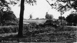 Outwood, The Windmills c.1950