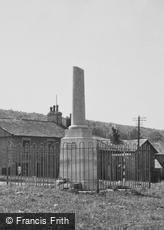 Over Kellet, the War Memorial c1960
