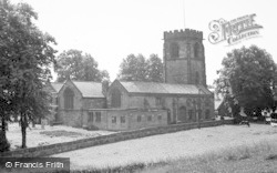 Over, St Chad's Church c.1955