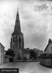Over, St Mary's Church 1898