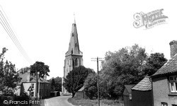 Over, St Mary's Church c.1965