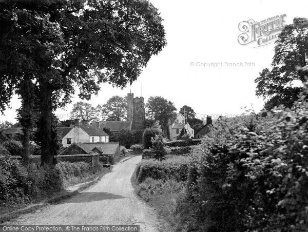 Over Stowey, the Village 1929