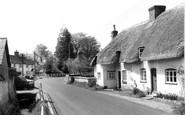 Over Wallop, Rose Cottage c1965