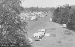 Overstone, Caravan Club, Overstone Park c.1955