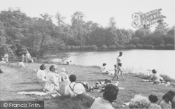 Overstone, Lake Side c.1955
