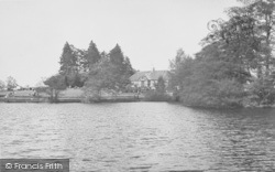Overstone, The Lake, Overstone Park c.1955