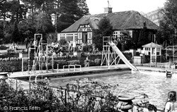 Overstone, The Solarium, Overstone Park c.1955