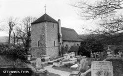 Ovingdean, St Wulfran's Church c.1960