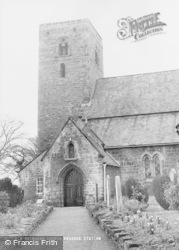 Ovingham, St Mary's Church c.1955