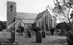 Ovingham, St Mary's Church c.1965