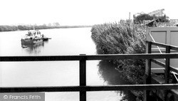 The River Trent c.1955, Owston Ferry