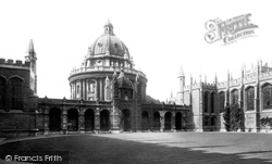 Oxford, All Souls College And The Radcliffe Camera 1890