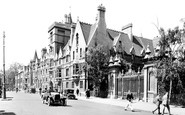 Oxford, Balliol College With Trinity College 1922