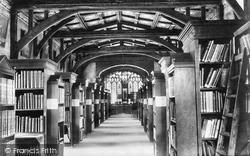 Oxford, Bodleian Library, Duke Humfrey's Library 1902