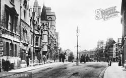 Oxford, Broad Street 1897