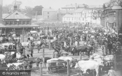 Oxford, Cattle Market, Gloucester Green c.1900