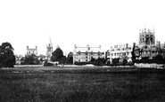 Oxford, Christ Church And Merton Colleges 1890