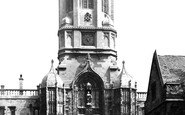 Oxford, Christ Church, Tom Tower 1890
