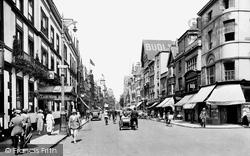 Oxford, Cornmarket Street 1922