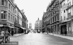 Oxford, Cornmarket Street c.1950
