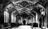 Oxford, Divinity Schools 1907