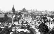 Oxford, From Magdalen Tower 1890