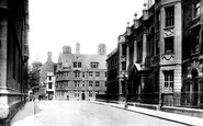 Oxford, Hertford College 1906