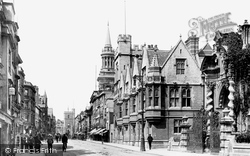 Oxford, High Street 1900