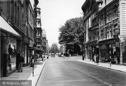 Oxford, Magdalen Street c.1955