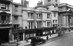 Oxford, Mitre Hotel 1927