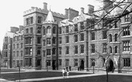 Oxford, New College 1890